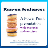 Run-on Sentences Power Point Presentation