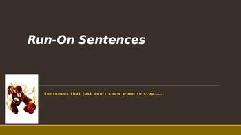 Run-on Sentences in a Flash