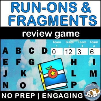 Run-ons & Fragments Review Bomb Game