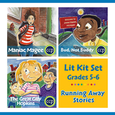 Running Away Stories Lit Kit Set - Gr. 5-6