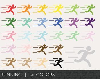 Running Digital Clipart, Running Graphics, Running PNG, Ra