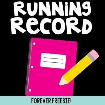 Running Record FREEBIE