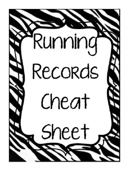 Running Records: An Easy Guide and Breakdown