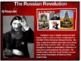 Russian Revolution - 4 causes, 4 figures, 4 events, 4 effe