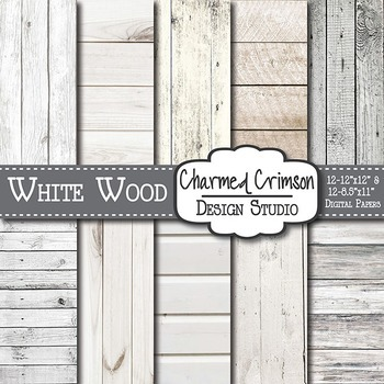 Rustic White Wood Background 1206