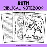 Ruth Interacitve Notebook Bible Unit