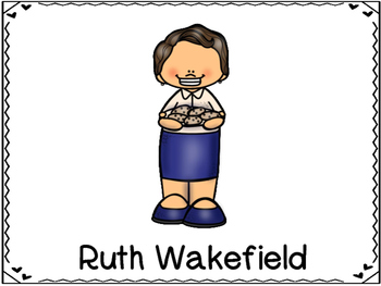 Ruth Wakefield Inventor (Chocolate Chip Cookie)