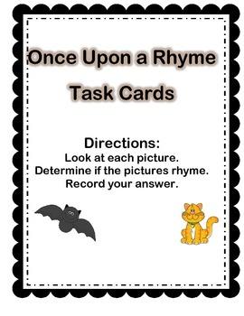 Ryhme Task Cards