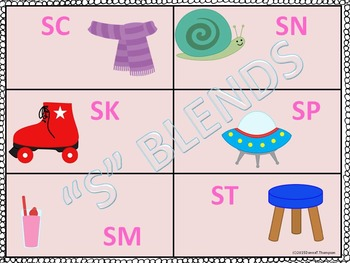 S Blends: Sorting Game