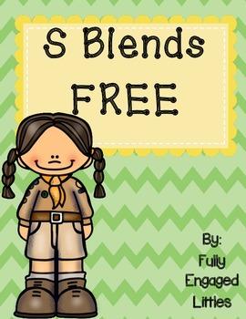 S Blend Activities- FREEBIE