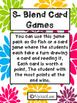 S-Blend Card Games- Orton Gillingham