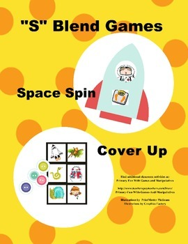 """S"" Blend Games (Space Spin and Cover Up)"