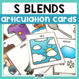 S Blends Articulation Cards Set