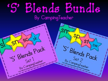 S Blends Bundle Set 1 and 2