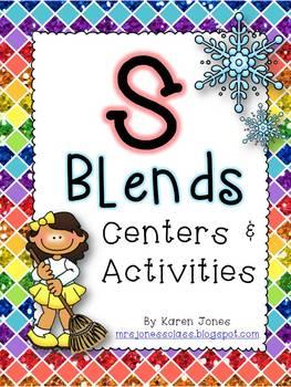 S Blends: Centers & Activities