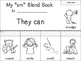 S Blends Flip Books