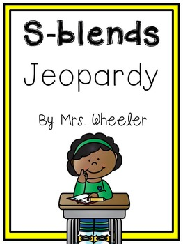 First Grade Phonics: S Blends Jeopardy