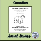 S is for Spirit Bear Activity Booklet