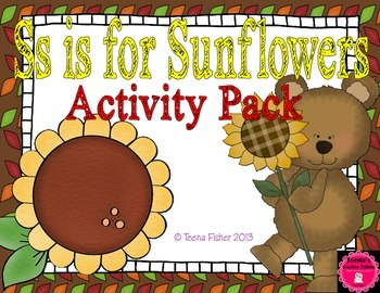 Letter of the Week - S is for Sunflowers Preschool Kinderg