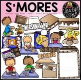 S'mores Clip Art Bundle
