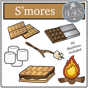 S'mores (JB Design Clip Art for Personal or Commercial Use)