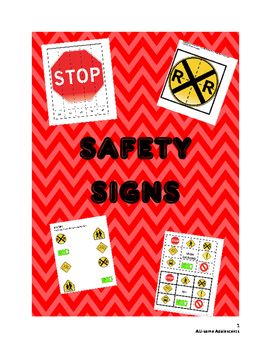 SAFETY SIGNS Independent Work