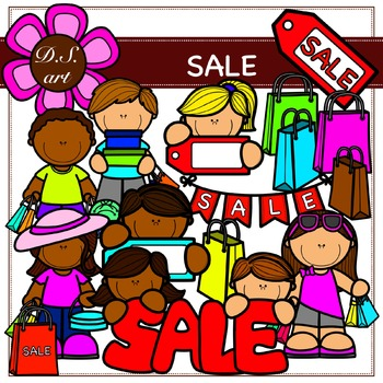 SALE Digital Clipart (color and black&white)