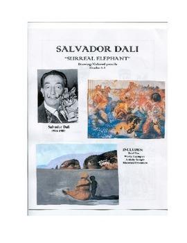 SALVADOR DALI ART LESSON