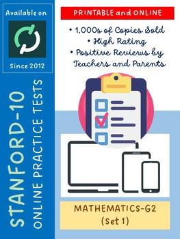 SAT Practice Test in Mathematics for Second Grade (Version 1)