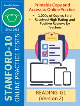 SAT Practice Test in Reading for First Grade (Version 2)