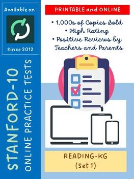 SAT Practice Test in Reading for Kindergarten (Version 1)