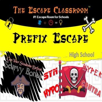 SAT Prefix Escape Classroom (9th - 12th Grade)