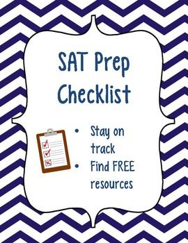 SAT Prep Checklist