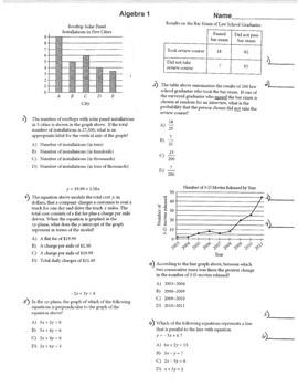 SAT Prep Math Preparation Algebra 1 Geometry & Algebra 2 W