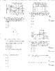 SAT Prep Math Preparation Algebra 1 Nine Worksheets Double