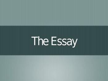 SAT Prep: The Essay