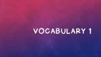 SAT Vocabulary Slides and Worksheets Weeks 1-20