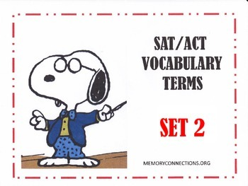 SAT/ACT Vocabulary Set 2: You'll be drawn to it!