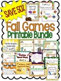 {SAVE 53%} FALL ACTIVITIES: Printable Bundle