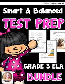 SBAC ELA Test Prep 3rd Grade