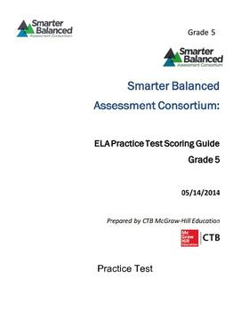 SBAC ELA Practice Test: Grade 5