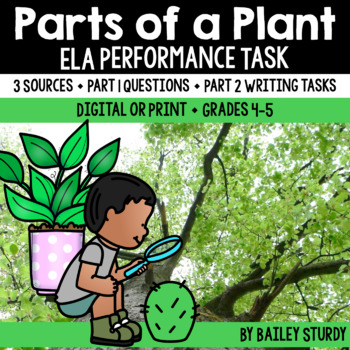 SBAC Performance Task - Plant Parts and Uses