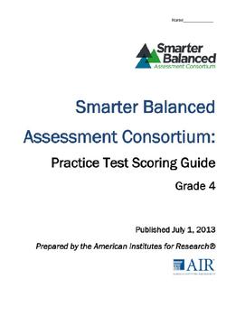 SBAC Practice Test: Math Grade 4