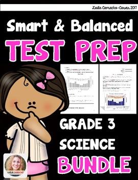 SBAC Science Test Prep 3rd Grade