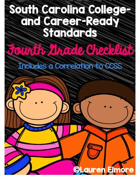 SC Standards Mastery Checklist and CCSS Correlation for Fo