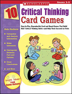 10 Critical Thinking Card Games (Enhanced eBook)