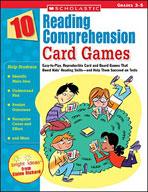 10 Reading Comprehension Card Games (Enhanced eBook)
