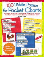 100 Riddle Poems for Pocket Charts (Enhanced eBook)