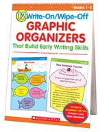 12 Write-On/Wipe-Off Graphic Organizers That Build Early W