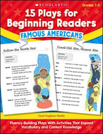 15 Plays for Beginning Readers: Famous Americans (Enhanced eBook)
